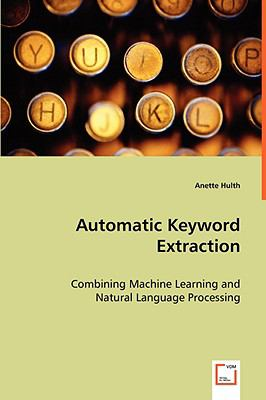 Automatic Keyword Extraction:   2008 edition cover