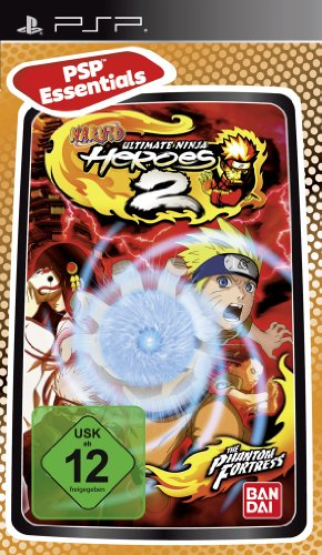 Naruto: Ultimate Ninja - Heroes 2 [PSP Essentials] Sony PSP artwork