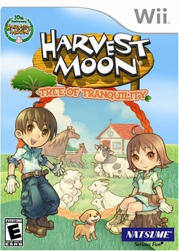 Harvest Moon: Tree of Tranquility - Nintendo Wii Nintendo Wii artwork