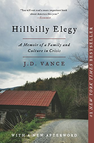 Cover art for Hillbilly Elegy: A Memoir of a Family and Culture in Crisis