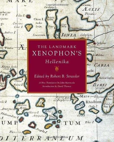 Landmark Xenophon's Hellenika   2009 edition cover
