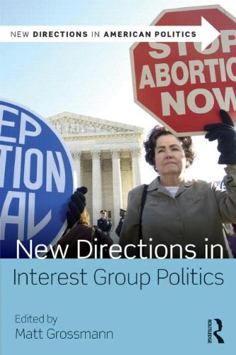 New Directions in Interest Group Politics   2014 edition cover