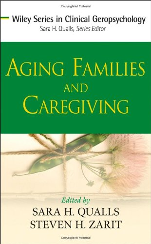 Aging Families and Caregiving   2009 edition cover