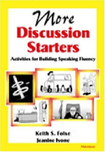 More Discussion Starters Activities for Building Speaking Fluency  2002 9780472088553 Front Cover