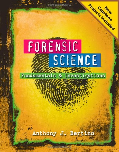 Forensic Science Fundamentals and Investigations 2012 Update  2012 edition cover