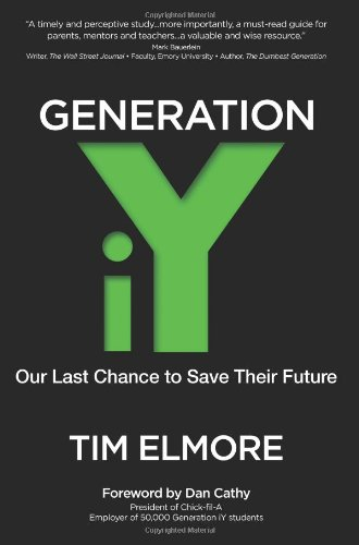 Generation IY Our Last Cance to Save Their Future  2010 edition cover