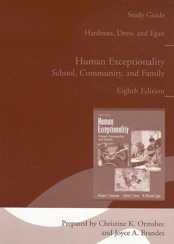 Human Exceptionality : School, Community, and Family, 2004 8th 2005 (Guide (Pupil's)) 9780618918553 Front Cover