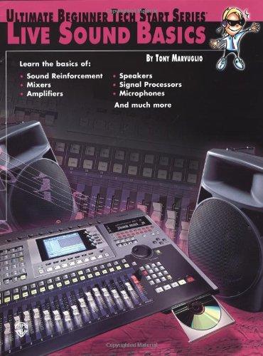 Ultimate Beginner Tech Start Live Sound Basics  2001 edition cover