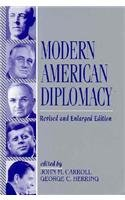 Modern American Diplomacy  2nd 1996 (Revised) edition cover