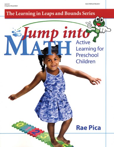 Jump into Math Active Learning for Preschool Children  2008 edition cover
