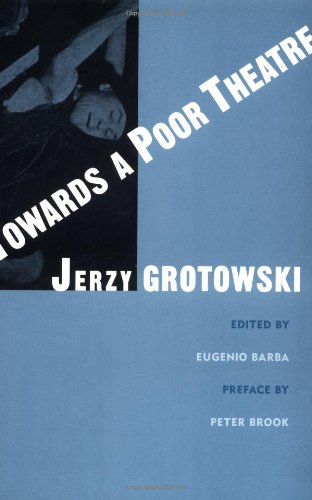Towards Poor Theatre   2002 edition cover