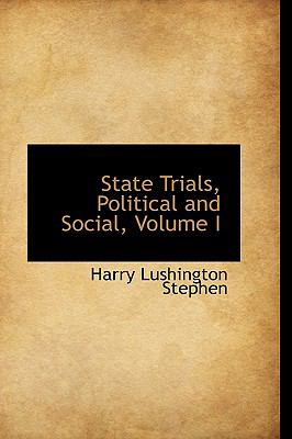 State Trials, Political and Social:   2009 edition cover