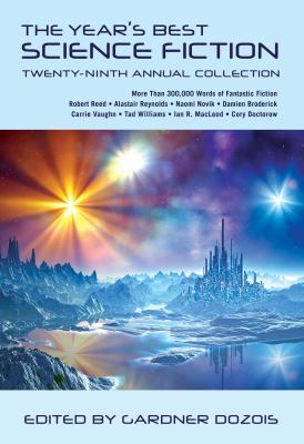 Year's Best Science Fiction  29th 2012 edition cover