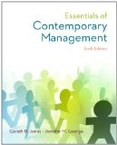 Essentials of Contemporary Management with Connect Plus  6th 2015 edition cover