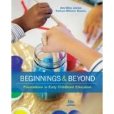 Beginnings & Beyond: Foundations in Early Childhood Education  2016 edition cover