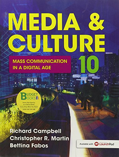 Loose-Leaf Version for Media and Culture An Introduction to Mass Communication 10th 2015 edition cover