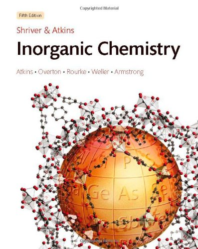 Solutions Manual for Inorganic Chemistry  5th 2010 edition cover