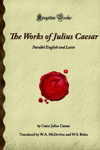 WORKS OF JULIUS CEASAR N/A edition cover