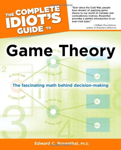 Complete Idiot's Guide to Game Theory   2011 edition cover