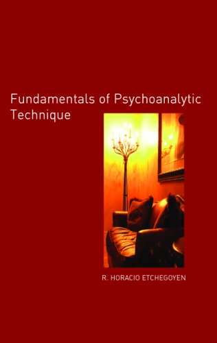Fundamentals of Psychoanalytic Technique   2005 edition cover