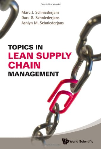 Topics in Lean Supply Chain Management   2009 edition cover