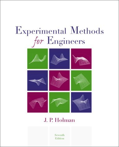 Experimental Methods for Engineers 7th 2001 (Revised) edition cover