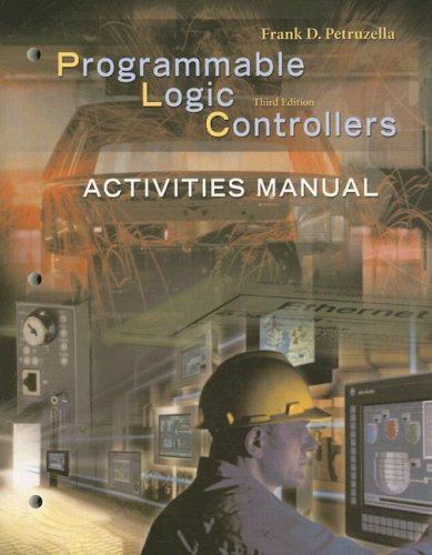 Activities Manual for Programmable Logic Controllers  3rd 2005 edition cover