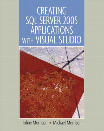 Creating SQL Server 2005 Applications with Visual Studio   2007 edition cover