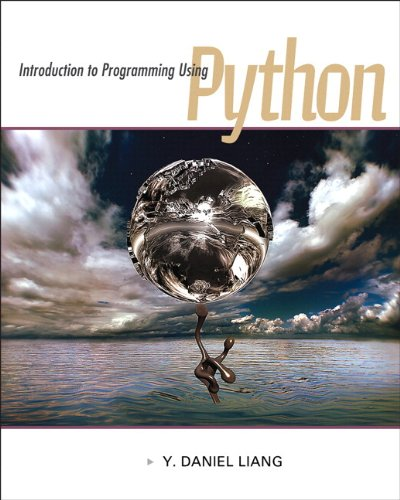Introduction to Programming Using Python   2013 edition cover