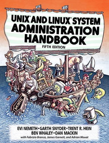 Unix and Linux System Administration Handbook:   2017 9780134277554 Front Cover