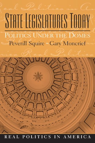 State Legislatures Today Politics under the Domes  2010 edition cover