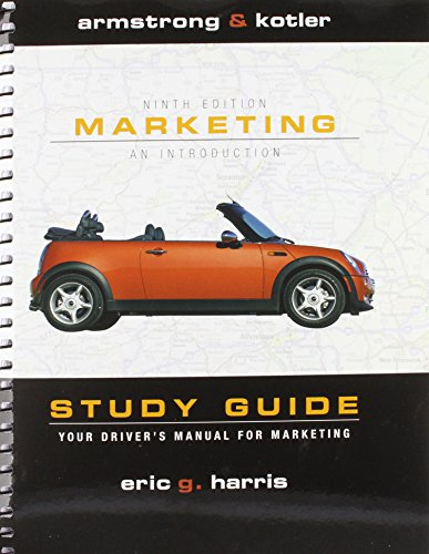 Marketing  9th 2009 9780137148554 Front Cover