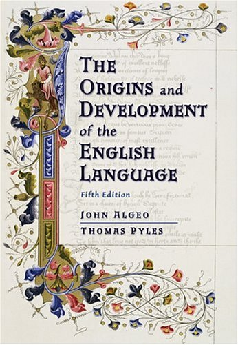 Origins and Development of the English Language  5th 2005 (Revised) edition cover