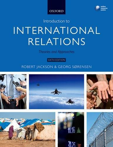 Introduction to International Relations Theories and Approaches 6th 2015 9780198707554 Front Cover