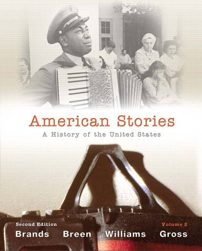 American Stories A History of the United States 2nd 2012 edition cover