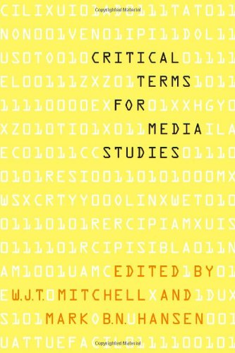 Critical Terms for Media Studies   2010 edition cover