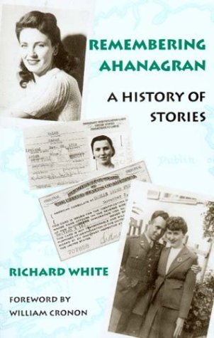 Remembering Ahanagran A History of Stories  2003 edition cover