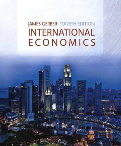 International Economics  4th 2008 (Revised) edition cover