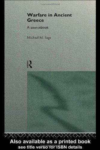 Warfare in Ancient Greece A Sourcebook  1996 edition cover