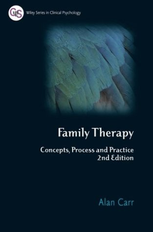 Family Therapy Concepts, Process and Practice 2nd 2006 edition cover
