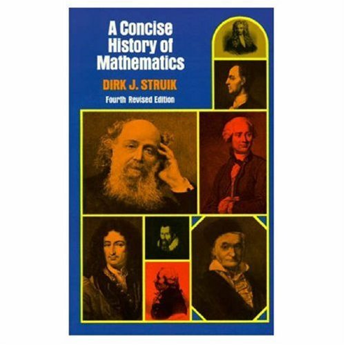 Concise History of Mathematics  4th 1987 (Revised) edition cover