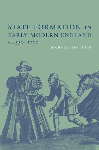State Formation in Early Modern England, C. 1550-1700   2000 edition cover