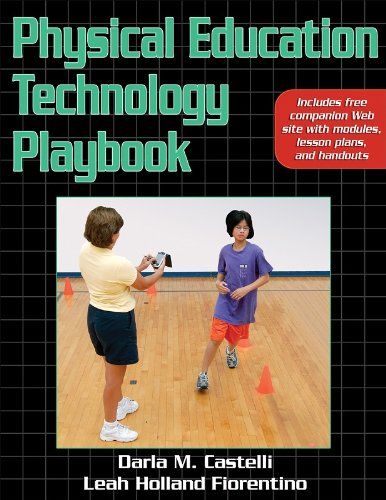 Physical Education Technology Playbook   2008 edition cover
