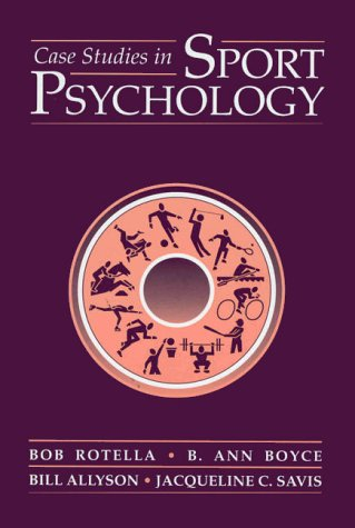 Case Studies in Sport Psychology   1998 edition cover