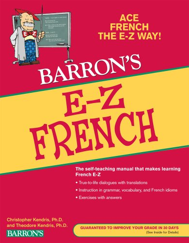 E-Z French  5th 2010 (Revised) edition cover