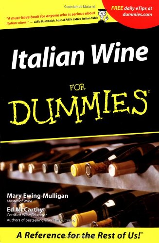 Italian Wine for Dummies   2001 edition cover