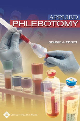 Applied Phlebotomy   2005 edition cover