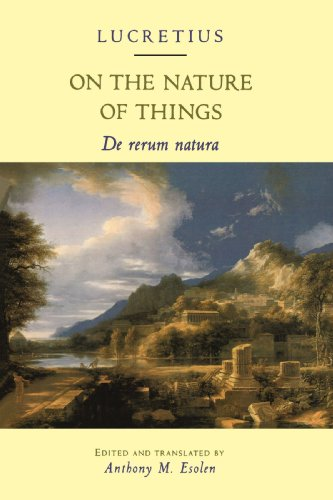 On the Nature of Things De Rerum Natura  1995 edition cover