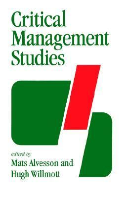 Critical Management Studies   1992 edition cover