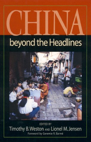 China Beyond the Headlines   2000 edition cover